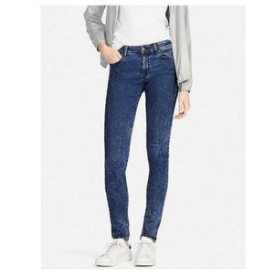 UNIQLO Ultra stretch high rise jeans